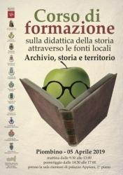Rete Archivi - Corso formazione didattica archivi - Piombino 5 aprile 2019