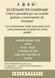 Locandina Corso formazione 11 giugno 2019