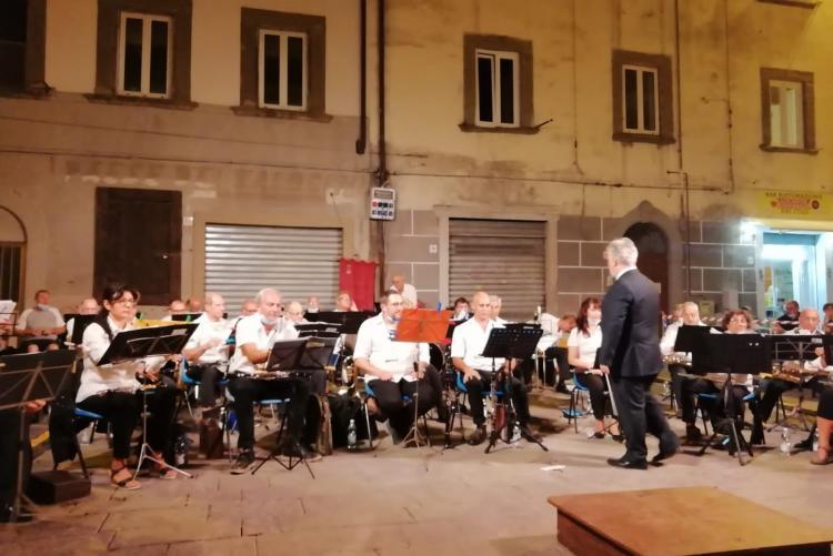 foto di una esibizione della Banda Città di Livorno- foto tratta dal sito dell'Associazione