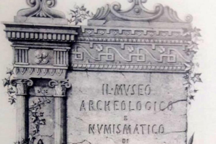 Foto epigrafe Museo Archeologico di Livorno
