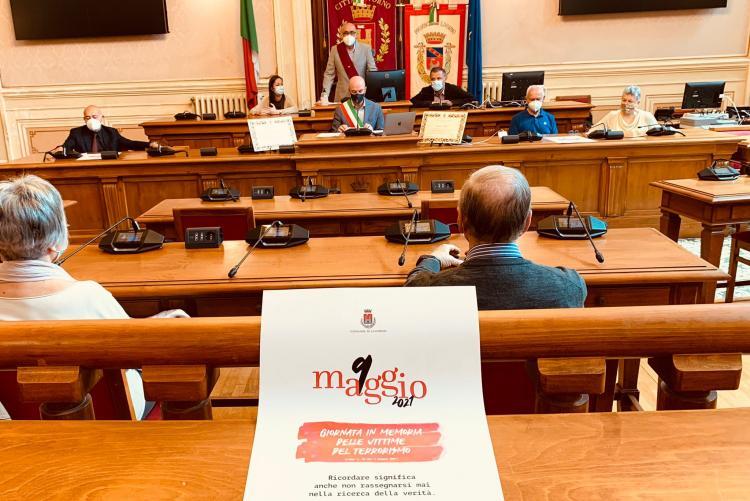 cerimonia giorno memoria vittime terrorismo-strage di bologna
