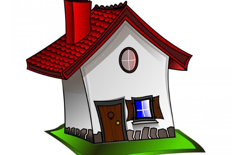 Immagine grafica di una casa