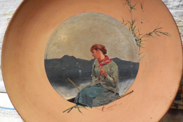 Eugenio Cecconi, Sera sul lago di Massaciuccoli