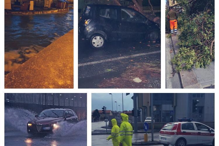 Foto dei danni provocati dagli eventi meteo del 24-26 settembre 2020