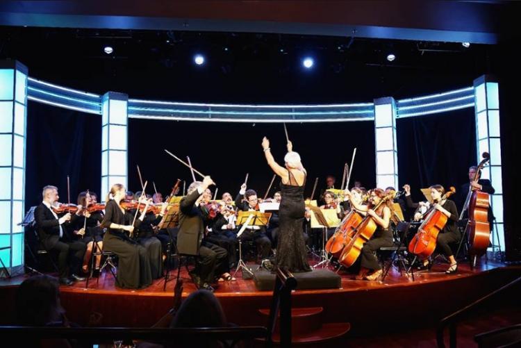 Un'immagine di un concerto dell'Ensamble Bacchelli