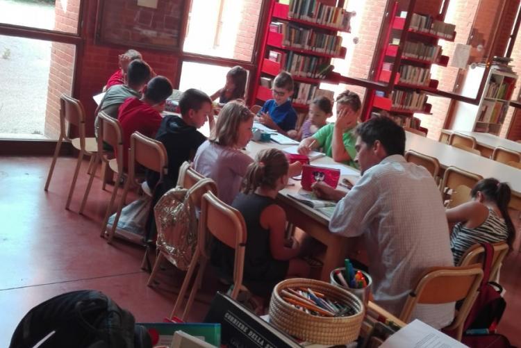 Immagine di una giornata di lezione