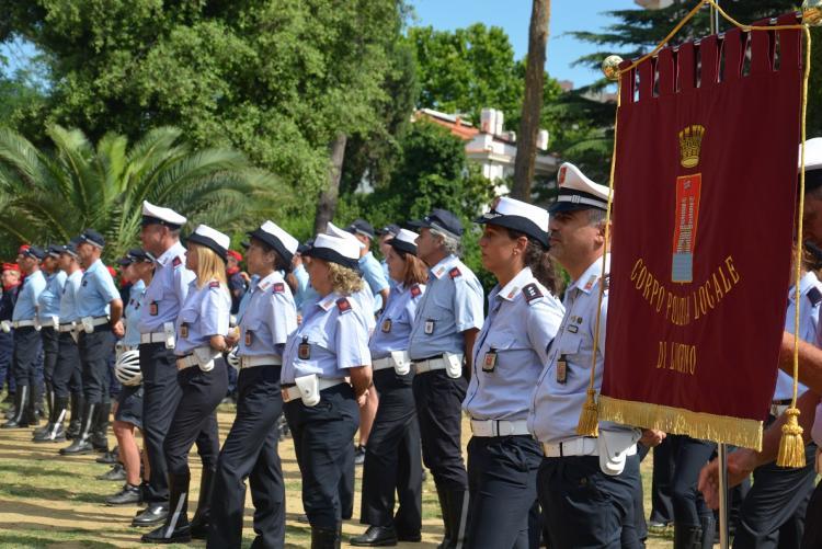 Foto di una Festa della Polizia Municipale