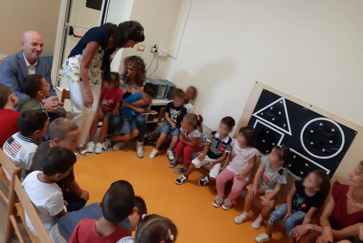 Foto classe scuola dell'infanzia