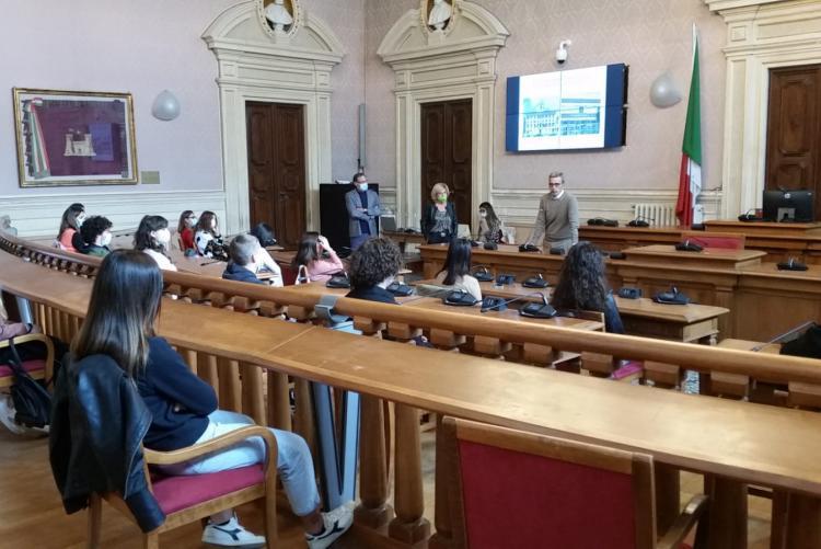 Foto dell'iniziativa in Sala Consiliare