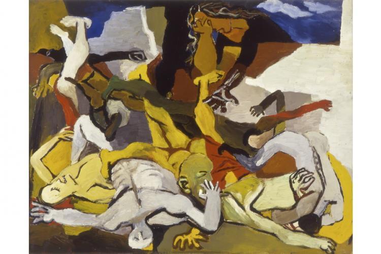 opera guttuso a mostra vissi d'arte