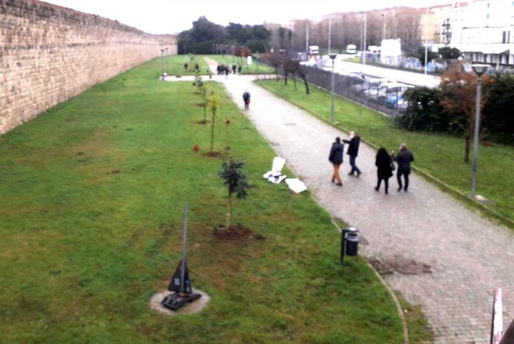 Foto del Parco delle Mura Lorenesi