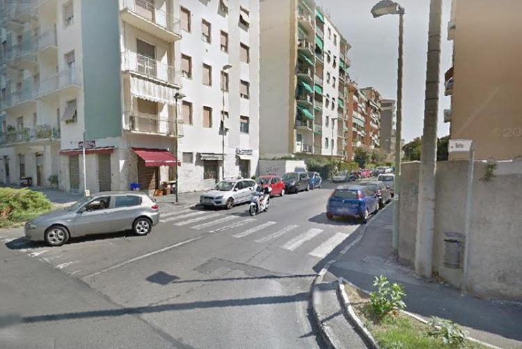 Foto della zona via Montebello - via Goito