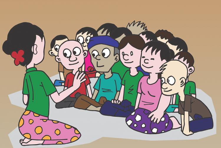 Immagine grafica di una classe