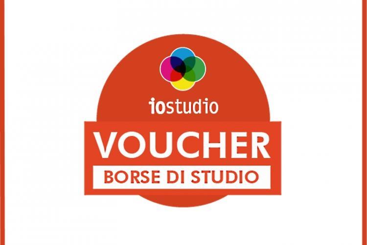 """Logo della campagna """"Io Studio - Voucher"""""""
