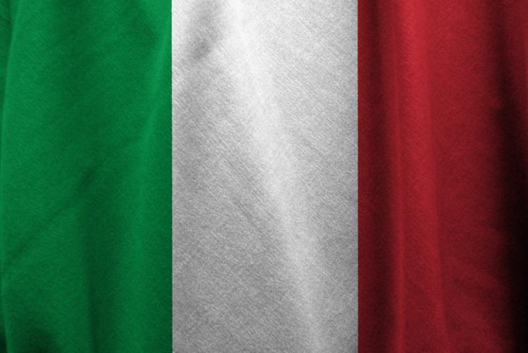 foto della bandiera italiana