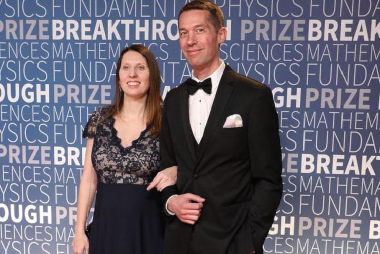 Foto di Lisa Barsotti alla premiazione degli Oscar della Scienza 2018