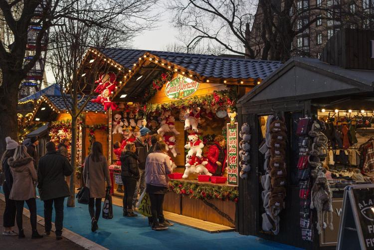mercatino di Natale foto da Pixabay