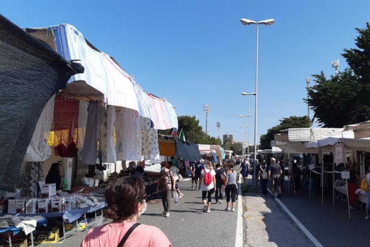 immagine del mercatino
