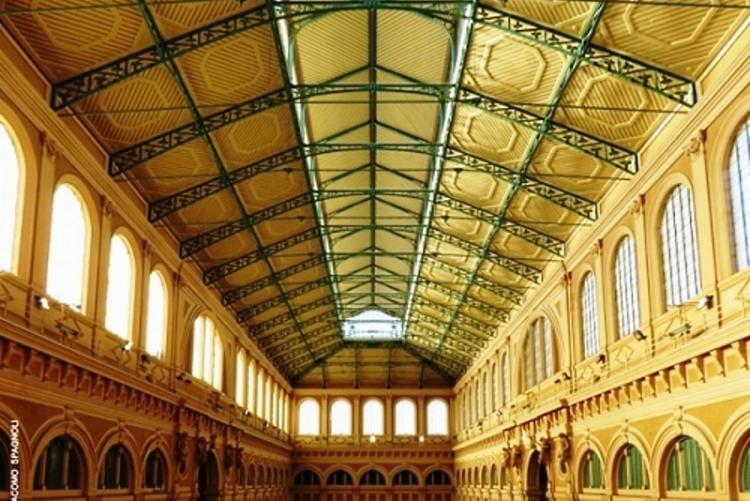 Un'immagine dell'interno del Mercato Centrale delle Vettovaglie