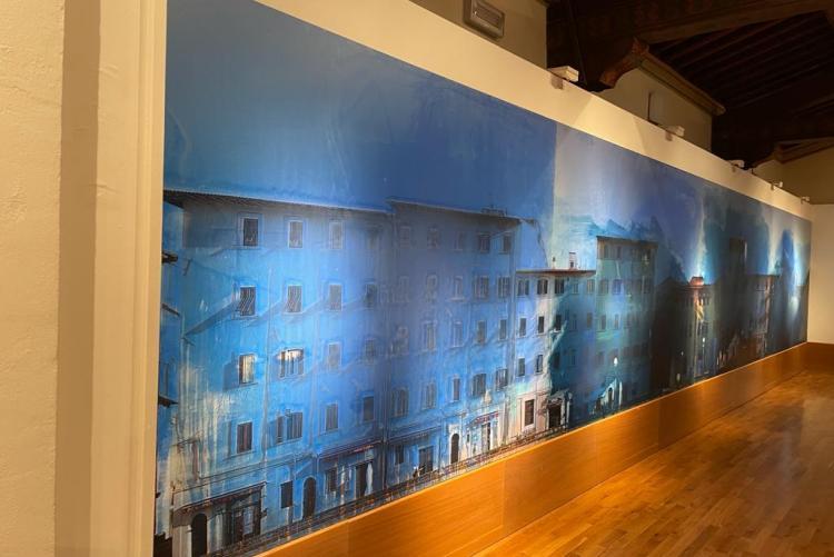 foto di una delle sale della mostra