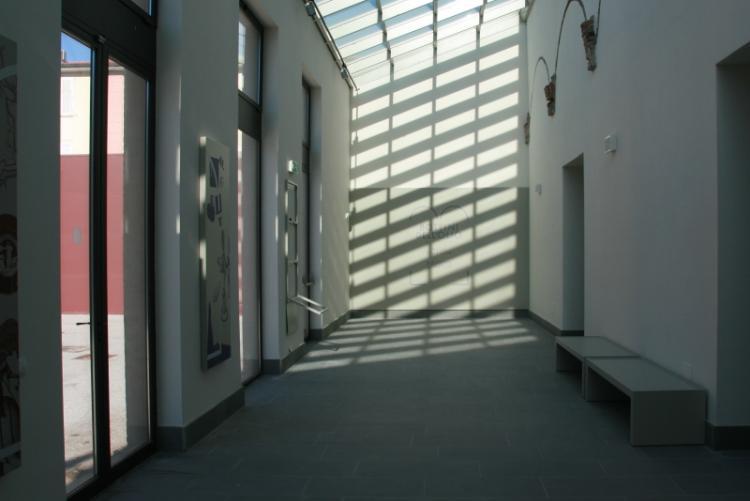Foto dell'ingresso del Museo della Città