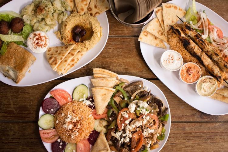 Immagine di piatti multietnici