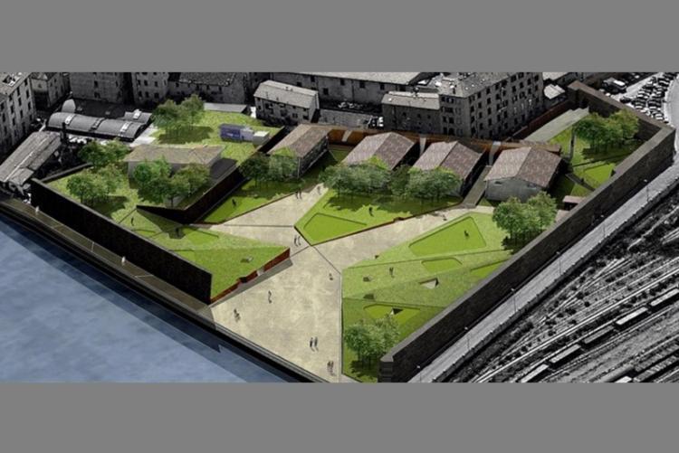 Immagine del progetto per il nuovo Polo urbano per l'innovazione