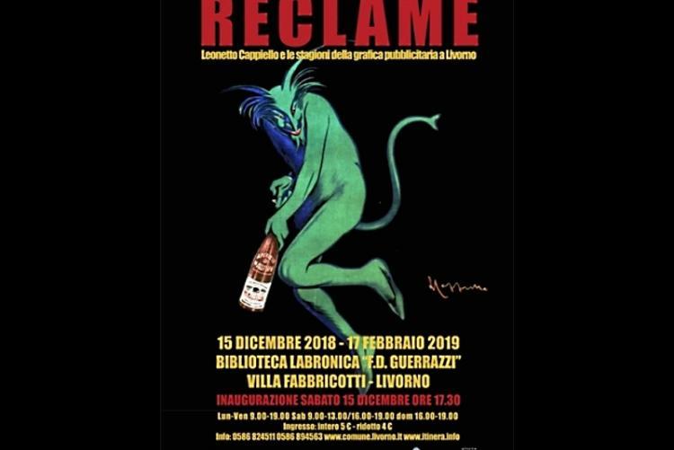 """Immagine della locandina della mostra """"Reclame"""""""