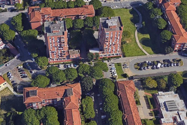 Un'immagine del quartiere Salviano dall'alto