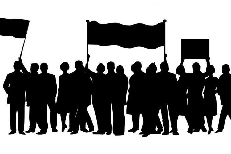 Disegno di una manifestazione