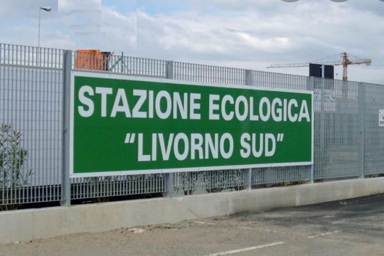 immagine dell'insegna della stazione ecologica