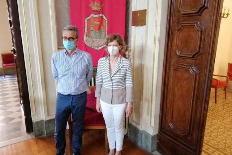 Gianfranco Simoncini e Susanna Fornai