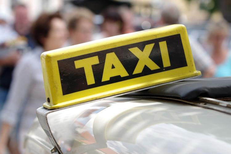 foto di un taxi