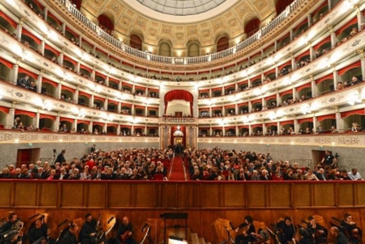 Un'immagine del Teatro Goldoni