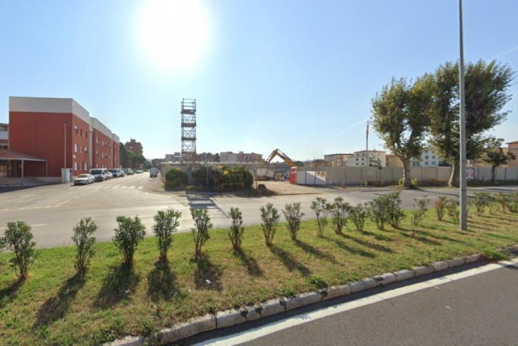 immagine della zona di via ferraris