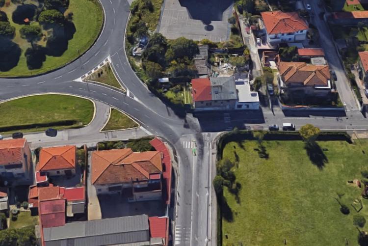 Immagine dell'intersezione tra via dell'Artigianato e via delle Sorgenti
