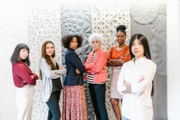 Un gruppo di donne