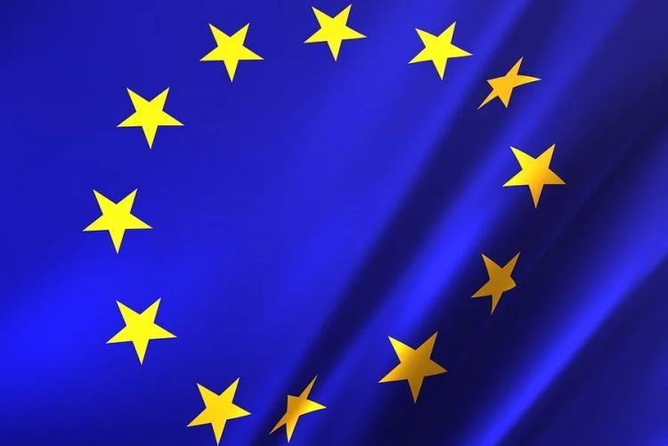 immagine della bandiera dell'unione europea