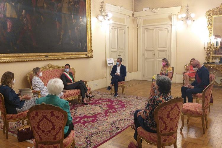 L'incontro con il Sottosegretario Bergamini