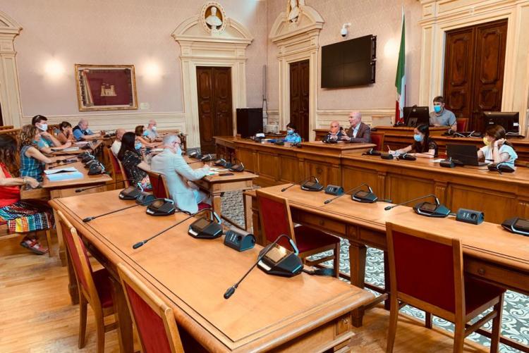 L'incontro nella Sala del Consiglio
