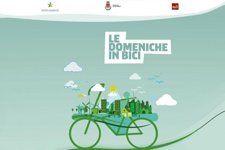 Manifesto Domenica in bici