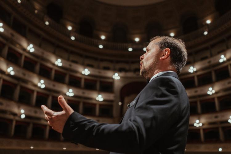Il tenore Marco Voleri