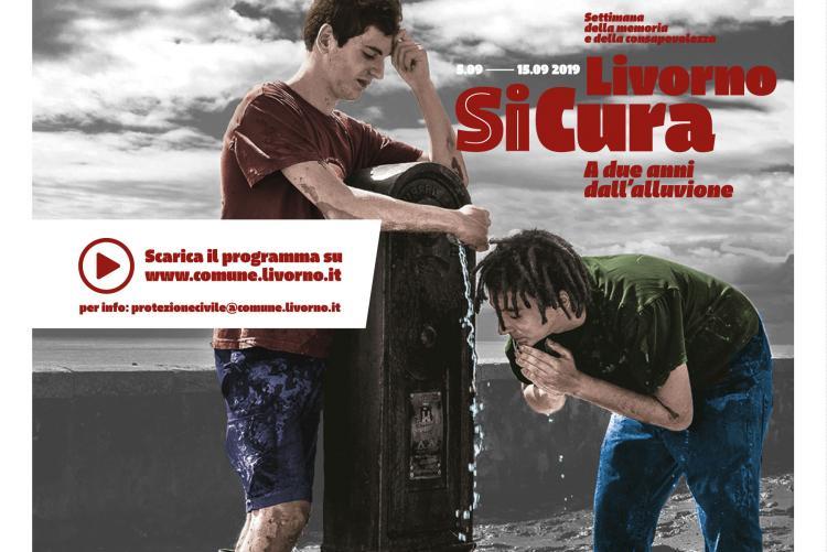 Locandina Livorno SiCura settimana della consapevolezza e della memoria