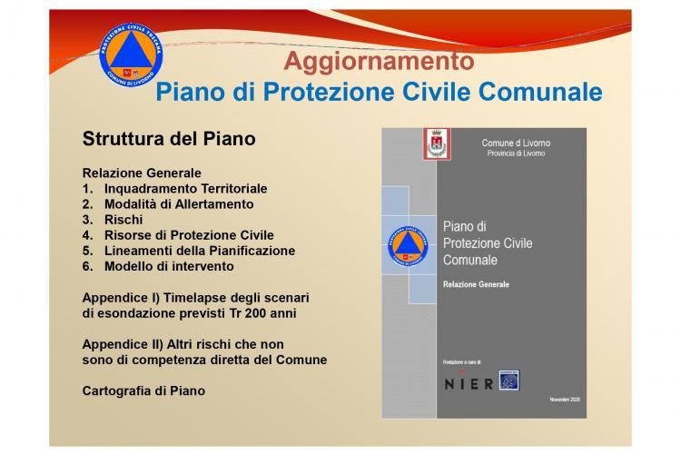 Immagine del Piano di Protezione Civile