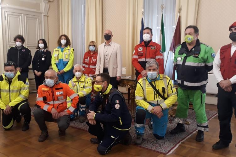 Incontro con volontari Protezione Civile