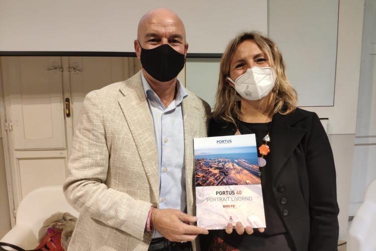 Il sindaco Salvetti e l'assessora Bonciani
