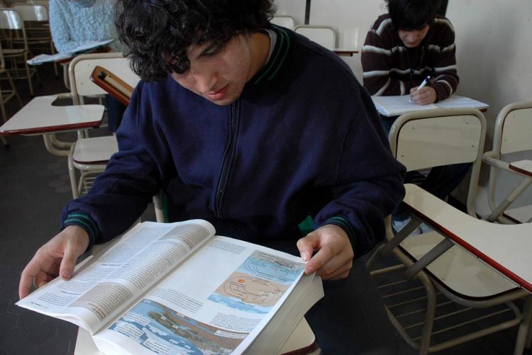 immagine di una classe d studenti