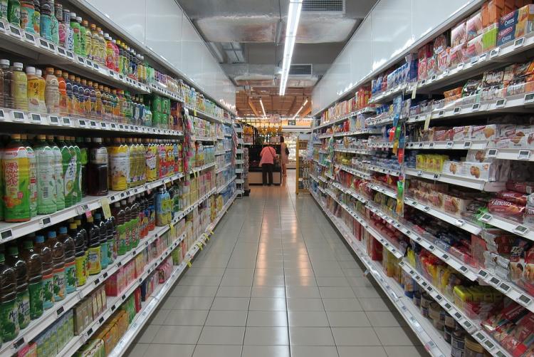 immagine di un supermercato