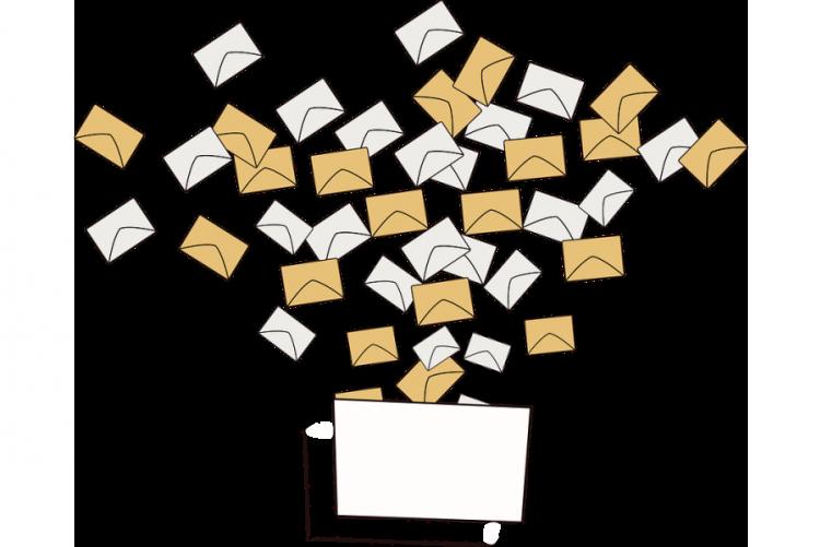 Disegno di schede nell'urna elettorale
