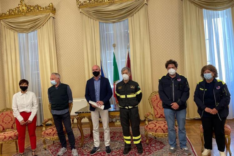 firma protocollo vigili del fuoco